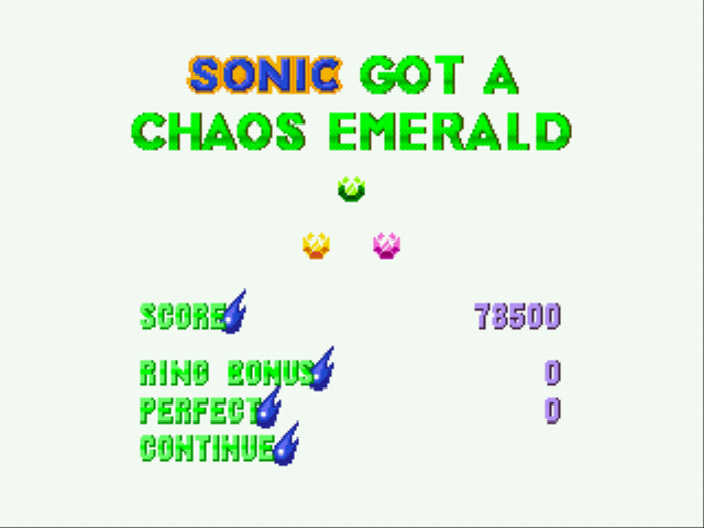 Sonic the Hedgehog 3 - Emerald #3 - User Screenshot
